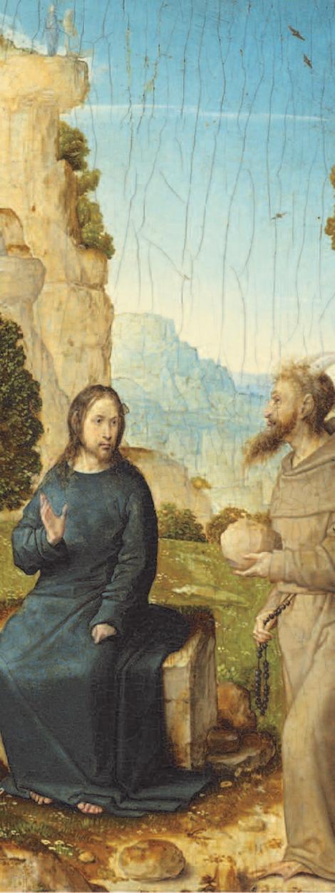 Temptation of Christ (Juan de Flandes, c. 1500-1504)