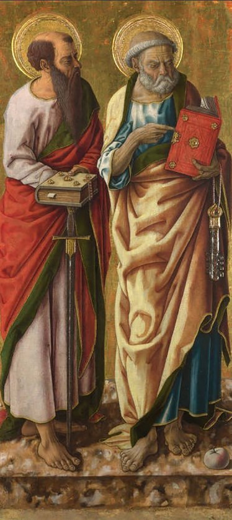 Santi Pietro e Paolo (Carlo Crivelli, 1470)