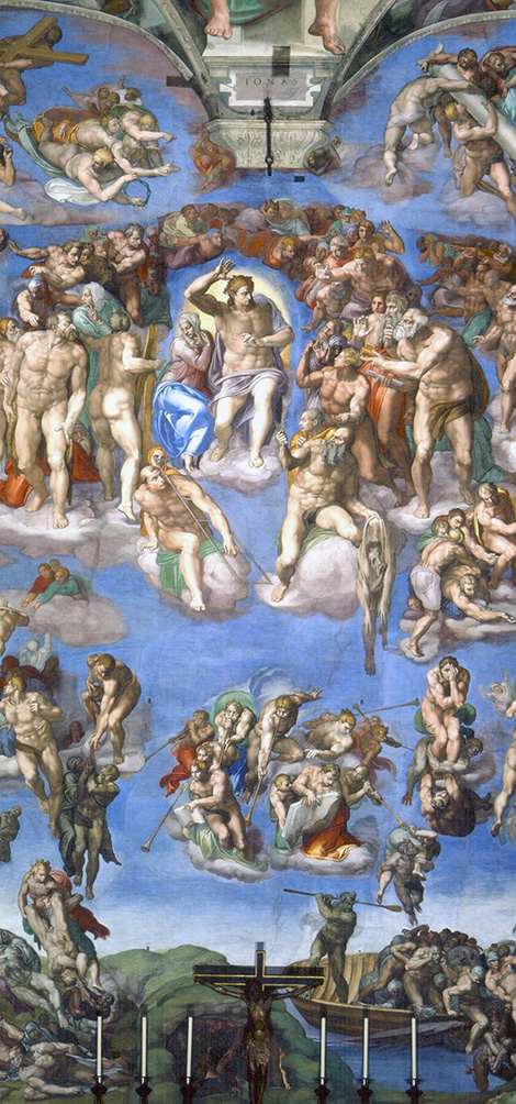 The Last Judgement, Michelangelo (1536-1541)