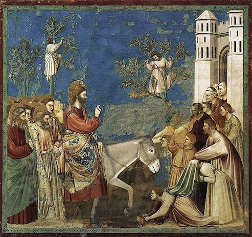 Giotto, Entry into Jerusalem