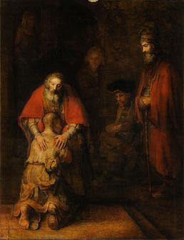 Rembrandt Prodigal Son