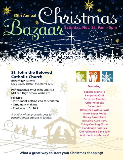 35th Annual Christmas Bazaar